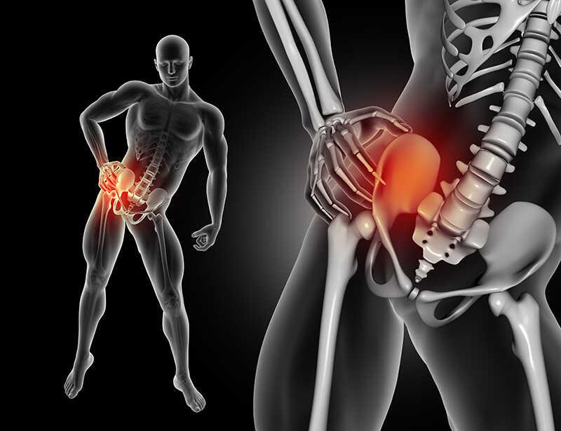 hip flexor stretch to relieve pain